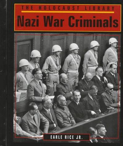 Nazi War Criminals (Holocaust Library)