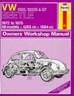 VW Beetle 1600 Owners Workshop Manual
