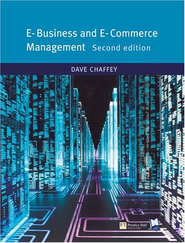 Ebusiness And Ecommerce Management Dave Chaffey Pdf