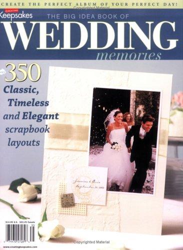 The Big Idea Book of Wedding Memories