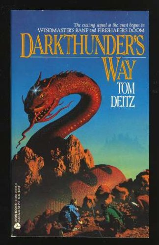 Darkthunders Way(David Sullivan 3) - Tom Deitz