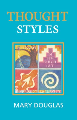 thought styles critical essays on good taste by mary douglas