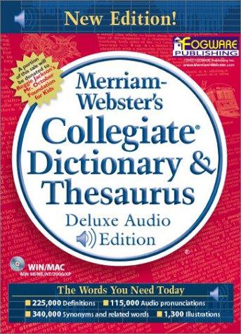 Merriam-Webster's Collegiate Dictionary & Thesaurus