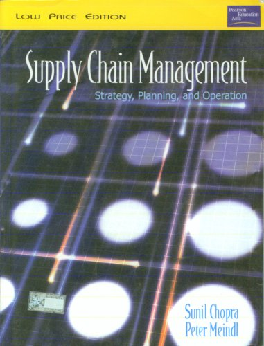 Meindl management chain pdf supply chopra