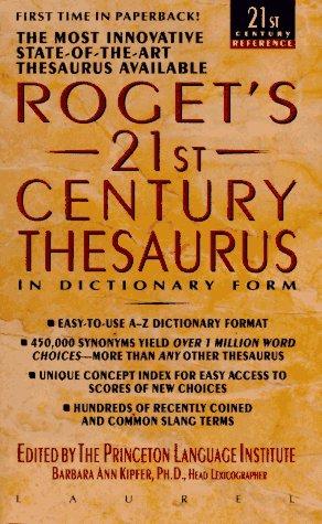 Roget's 21st Century Thesaurus