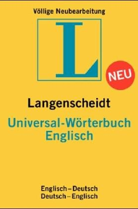 Langenscheidts Universal Wörterbuch, Englisch