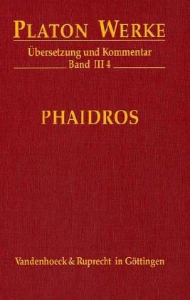 Phaidros. Werke III/4