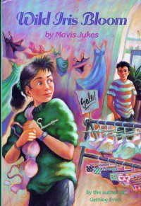 Wild Iris Bloom by Mavis Jukes