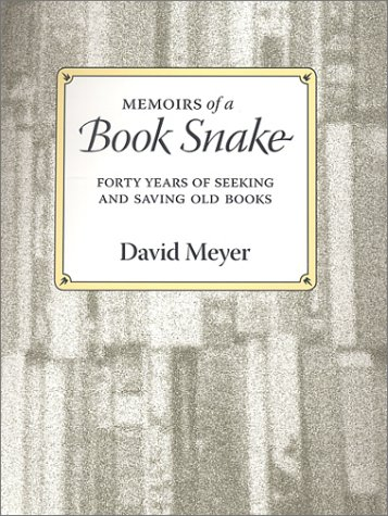 Memoirs Of A Book Snake