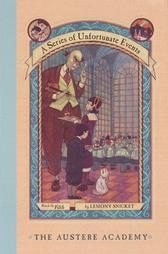 A Series of Unfortunate Events Book Set - Books #5-9 (The Austere Academy, The Ersatz Elevator, The Vile Village, The Hostile Hospital, The Carnivorous Carnival)