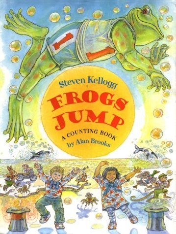 Frogs Jump; A Counting Book