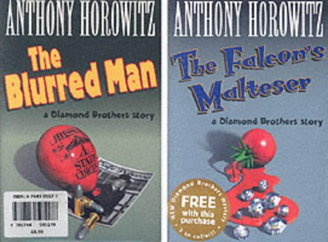 The Blurred Man / Falcon's Malteser (The Diamond Brothers, #4&1)