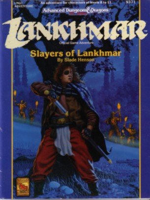 Slayers Of Lankhmar (Lnq1 Adventure/Lankhmar Official Game Adventure, No 9371)