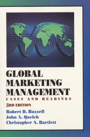 Global Marketing Management: Cases and Readings
