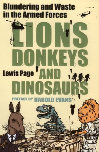 Lions donkeys and dinosaurs blundering and waste in the armed lions donkeys and dinosaurs blundering and waste in the armed forces fandeluxe Choice Image