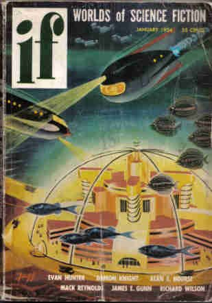IF Worlds of Science Fiction, 1954 January (Volume 2, No. 6)