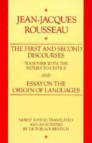a review of essay on the origin of language a composition by jean jeacques rousseau Discourse on the origin of inequality - ebook written by jean-jacques rousseau, donald a cress read this book using google play.