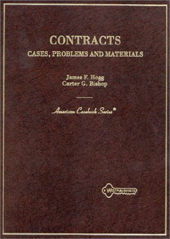 Contracts: Cases, Problems, And Materials