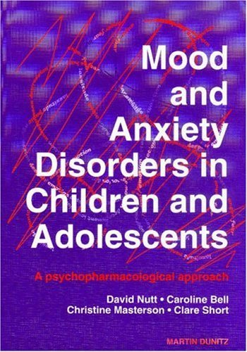 Mood And Anxiety Disorders In Children And Adolescents: A Psychopharmacological