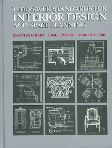 Time Saver Standards For Interior Design And Space Planning By Joseph De Chiara
