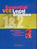 Essential Vce Legal Studies Units 1&2