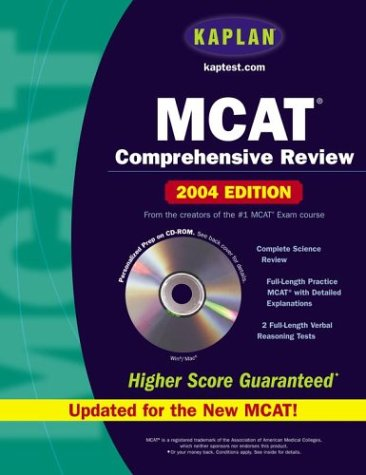 Kaplan MCAT Comprehensive Review [With CDROM]