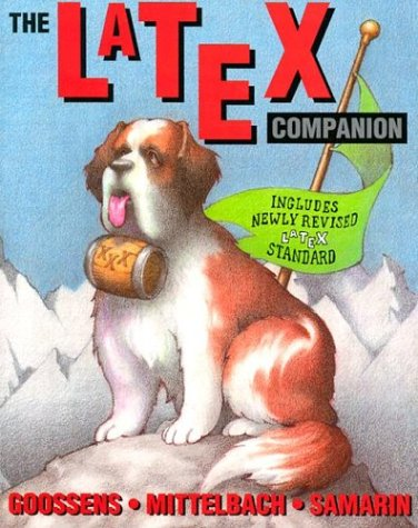 The Latex Companion by Michel Goossens