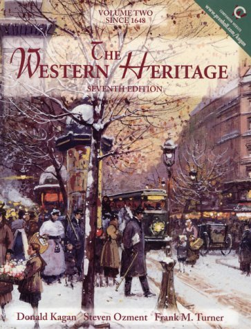 The Western Heritage, Volume II
