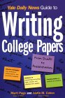 Yale Daily News Guide to Writing College Papers