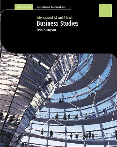 Business Studies: As And A Level