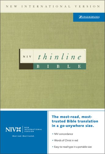 Holy Bible: NIV Thinline Bible [Medium Text Size]