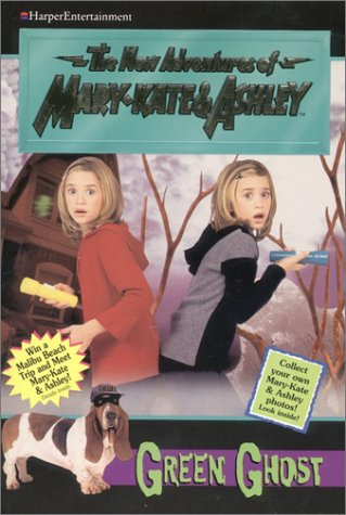 The Case of the Green Ghost (The New Adventures of Mary-Kate & Ashley, #13)