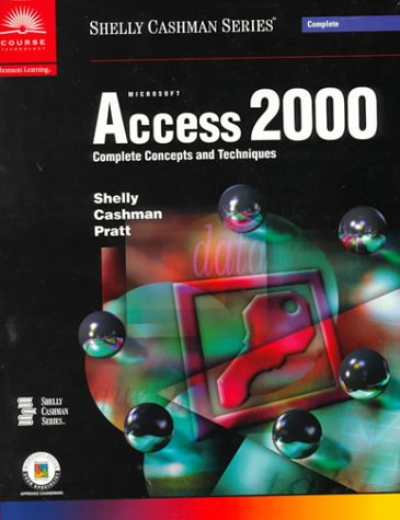 Microsoft Access 2000 Complete Concepts And Techniques