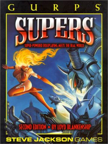 GURPS Supers by Loyd Blankenship