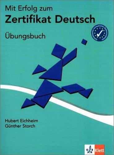 Mit Erfolg Zum Zertifikat Deutsch Übungsbuch