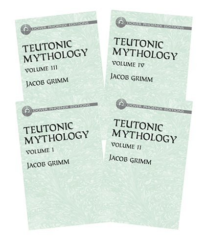 Teutonic Mythology (4 Vol. Set)