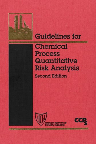 Guidelines For Chemical Process Quantitative Risk Analysis With