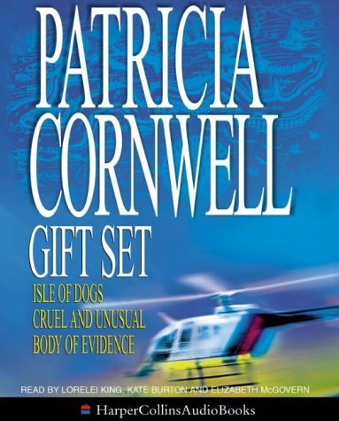 Patricia Cornwell Gift Set: Isle Of Dogs / Cruel And Unusual / Body Of Evidence (Andy Brazil, 3)(Andy Brazil 3)