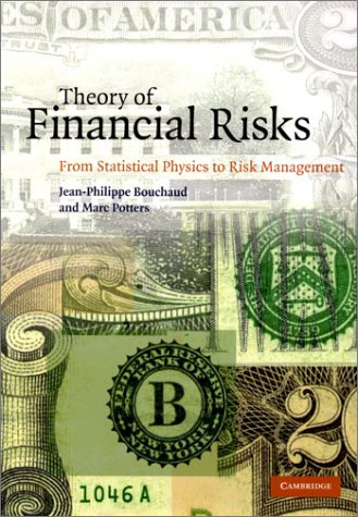 theory-of-financial-risks-from-statistical-physics-to-risk-management