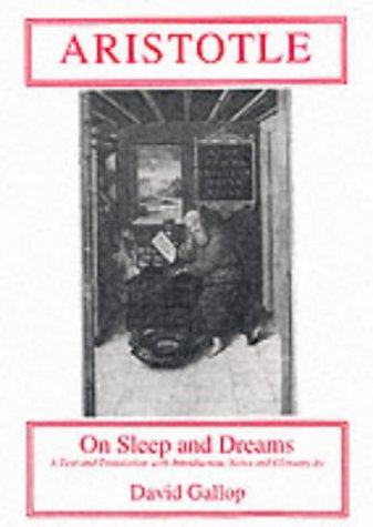 On Sleep and Dreams