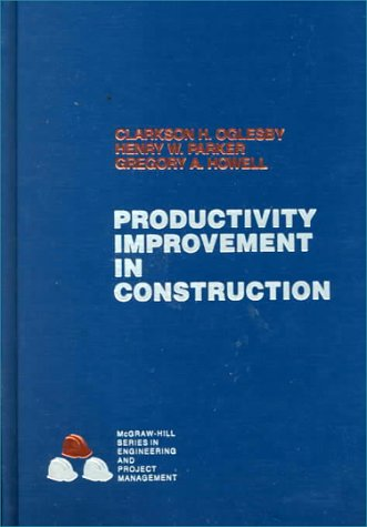 Productivity Improvement In Construction