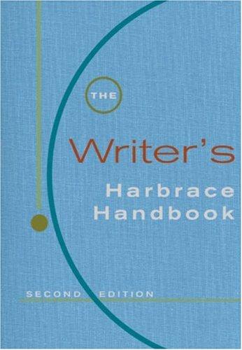 harbrace college handbook free  pdf