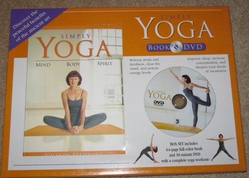 Simply Yoga Book & DVD by Yolanda Pettinato