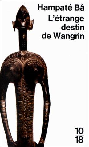 letrange destin de wangrin pdf