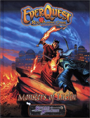 Everyquest Role Playing Game: Monsters Of Luclin