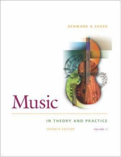 Music in Theory and Practice Vol 2 with Audio CD