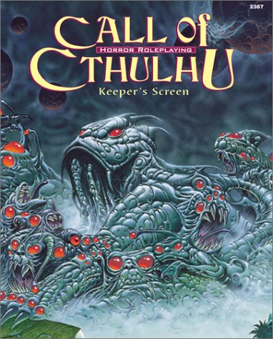 Call of Cthulhu Keeper's Screen