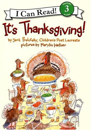It's Thanksgiving! by Jack Prelutsky