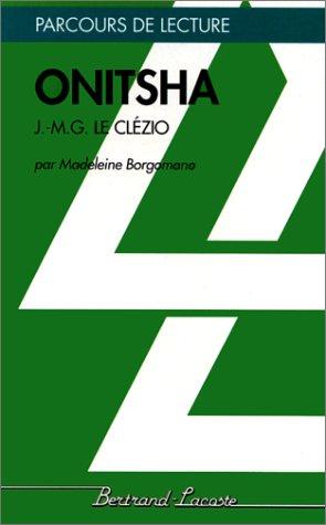 Onitsha: J.-M. G. Le Clézio