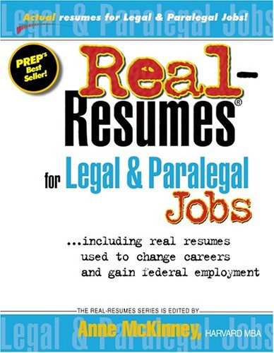 Careers paralegal array real resumes for legal u0026 paralegal jobs including real resumes rh goodreads com fandeluxe Gallery